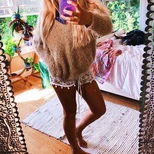 Misguided FuZzy Furry Cozy Chunky V Knit